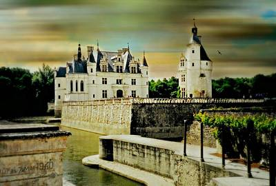 Loire Valley Chateau Art Print