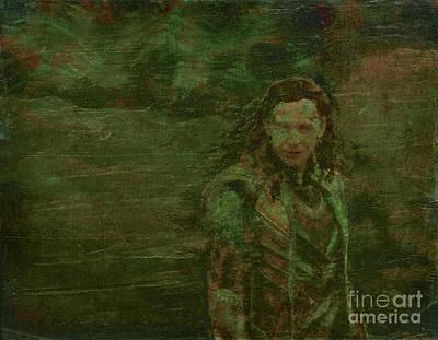 Thor Mixed Media - Loki by Alys Caviness-Gober