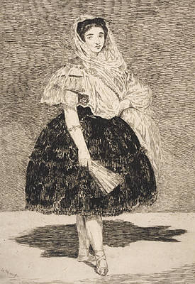 Painting - Lola De Valence by Edouard Manet