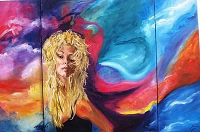 Artist Painting - Lola by Doris Cohen
