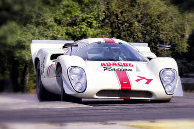 Photograph - Lola T70 Turn In by Alan Raasch