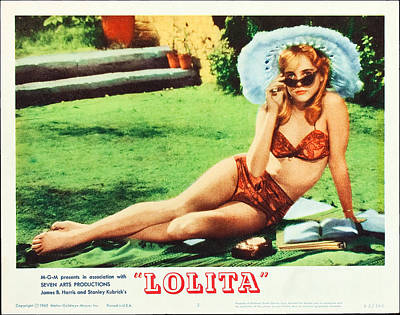 Films By Stanley Kubrick Photograph - Lolita, Sue Lyon On Lobbycard, 1962 by Everett