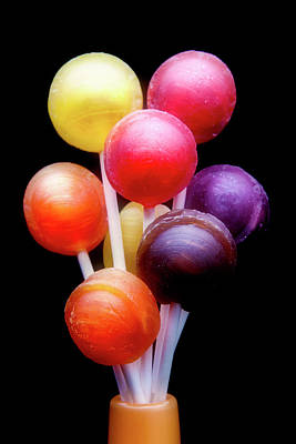 Candy Photograph - Lollipop Bouquet by Tom Mc Nemar