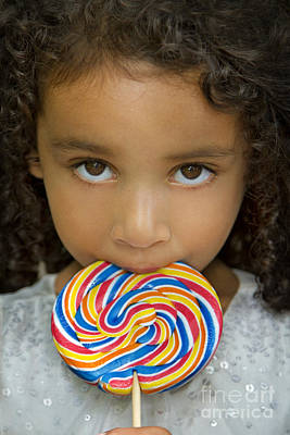 Royalty-Free and Rights-Managed Images - Lollipop by Evelina Kremsdorf
