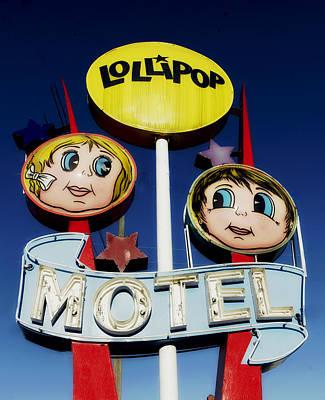 Lollipop Motel Art Print by Mountain Dreams