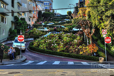 Photograph - Lombard Street  by Kevin Ashley