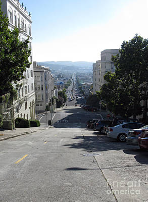 Photograph - Lombard Street. San Francisco 2010 by Ausra Huntington nee Paulauskaite