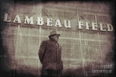 Lombardi At Lambeau Art Print