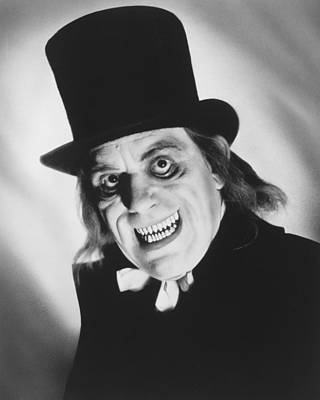 After Midnight Photograph - Lon Chaney In London After Midnight  by Silver Screen