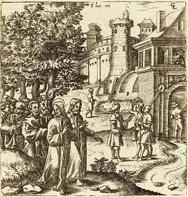 Léonard Gaultier French, 1561 - 1641, Christ Teaching Art Print