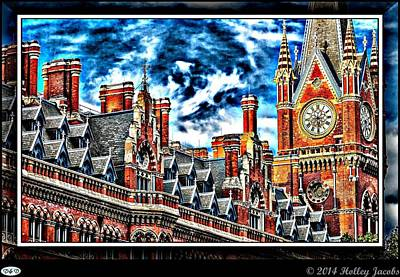 Digital Art - London 2 by Holley Jacobs