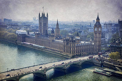 London Art Print by Alfio Finocchiaro