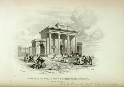London And Birmingham Railway Art Print