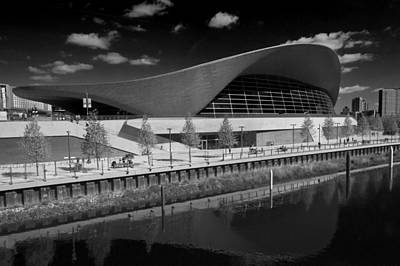 Photograph - London Aquatics Centre by David French
