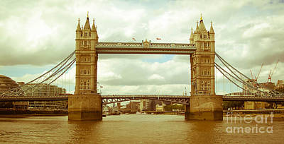 Photograph - London Bridge by Andrea Anderegg