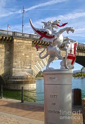 London Bridge Dragon Art Print by Gregory Dyer