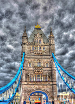 Photograph - London Bridge - High Dynamic Range by Scott D Welch