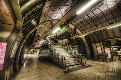 Photograph - London Bridge Station 1.0 by Yhun Suarez