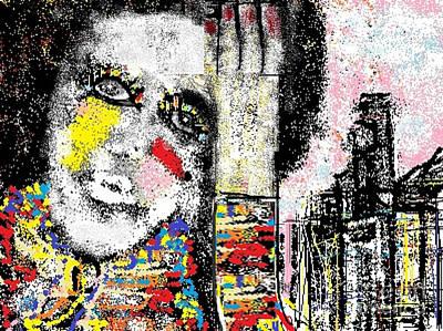 Ruth Clotworthy Digital Art - London Calling by Rc Rcd
