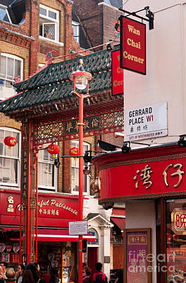 Photograph - London Chinatown 01 by Rick Piper Photography
