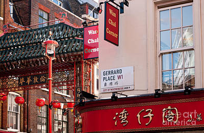 Photograph - London Chinatown 02 by Rick Piper Photography