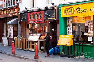 Photograph - London Chinatown 03 by Rick Piper Photography