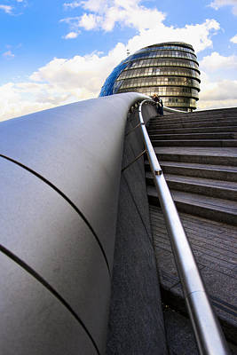 Photograph - London City Hall by Mark E Tisdale