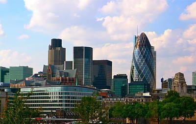 Photograph - London Cityscape by Denise Mazzocco