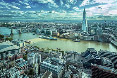 London Cityscape Art Print by Peter Zelei Images