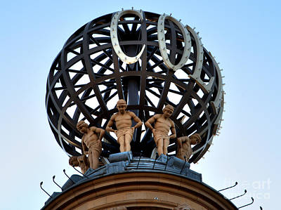 Photograph - London Coliseum Rooftop by Deborah Smolinske