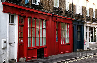 Photograph - London Colors by John Rizzuto