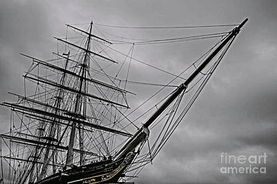 Boats Photograph - London Cutty Sark Greenwich by Claire  Doherty