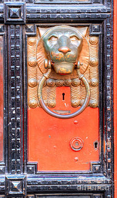 Photograph - London Doorknocker by Deborah Smolinske