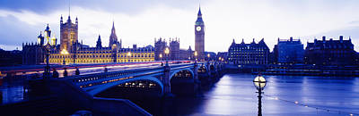 Westminster Palace Photograph - London, England, United Kingdom by Panoramic Images