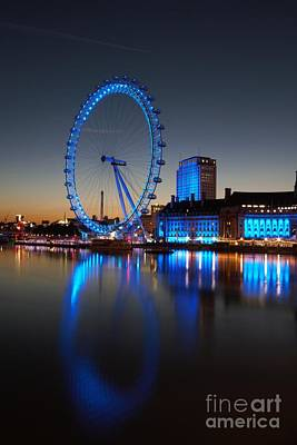 London Eye 2 Art Print
