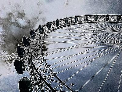 London Eye-1 Original by Mark J Dunn