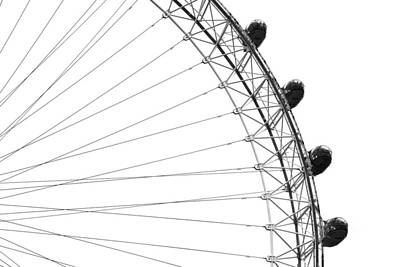 Photograph - London Eye by Chevy Fleet