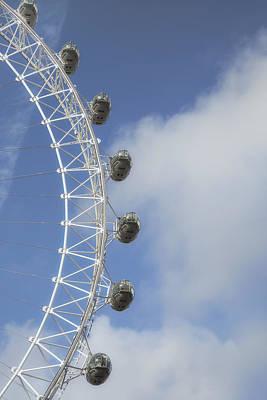 London Eye Photograph - London Eye by Joana Kruse