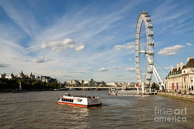 Photograph - London Eye by Rick Piper Photography