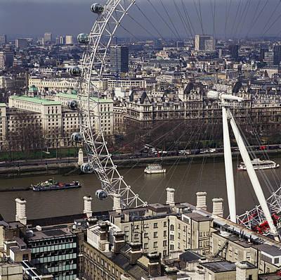 London Eye Wall Art - Photograph - London Eye by Skyscan/science Photo Library