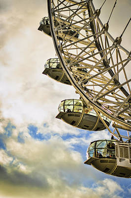 Photograph - London Eye View by Heather Applegate