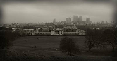 Photograph - London From Greenwich by Maj Seda