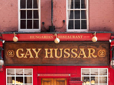 Photograph - London Gay Hussar 01 by Rick Piper Photography