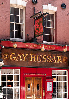 Photograph - London Gay Hussar 02 by Rick Piper Photography