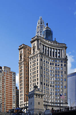 Deco Photograph - London Guarantee And Accident Building Chicago by Christine Till