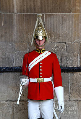 Life Guard On Duty London Print by James Brunker