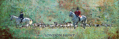 London Hunt Art Print by Melanie Prosser
