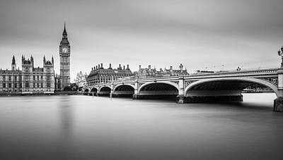 Big Ben Wall Art - Photograph - London by Milan Jurek