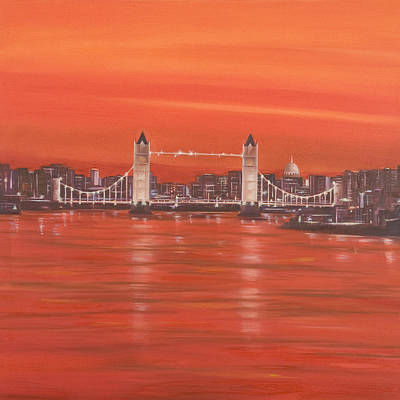 Painting - London by Neil Kinsey Fagan