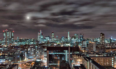 London Nights 2 Art Print by Jason Green